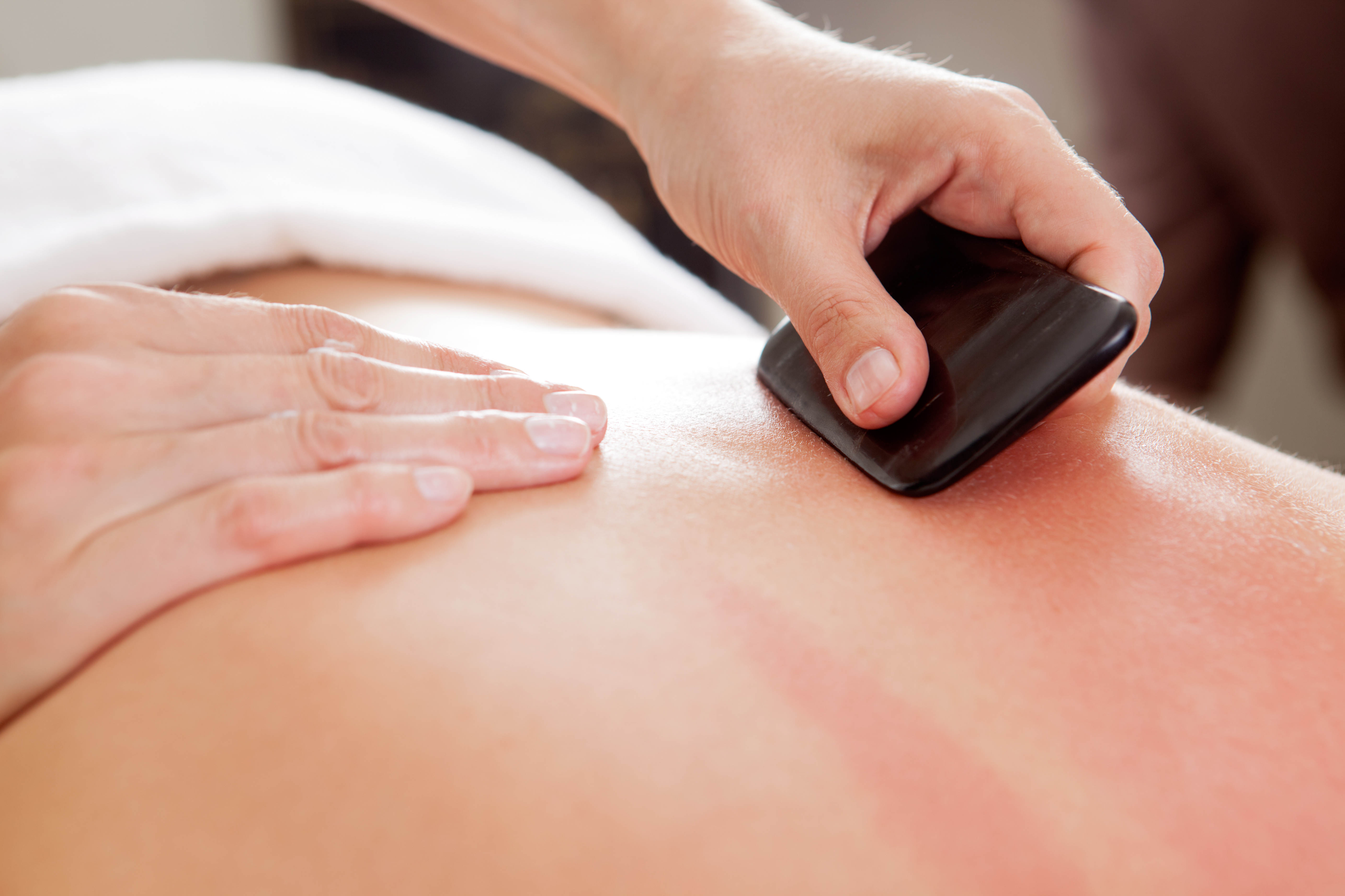 Gua Sha for Muscle Relief